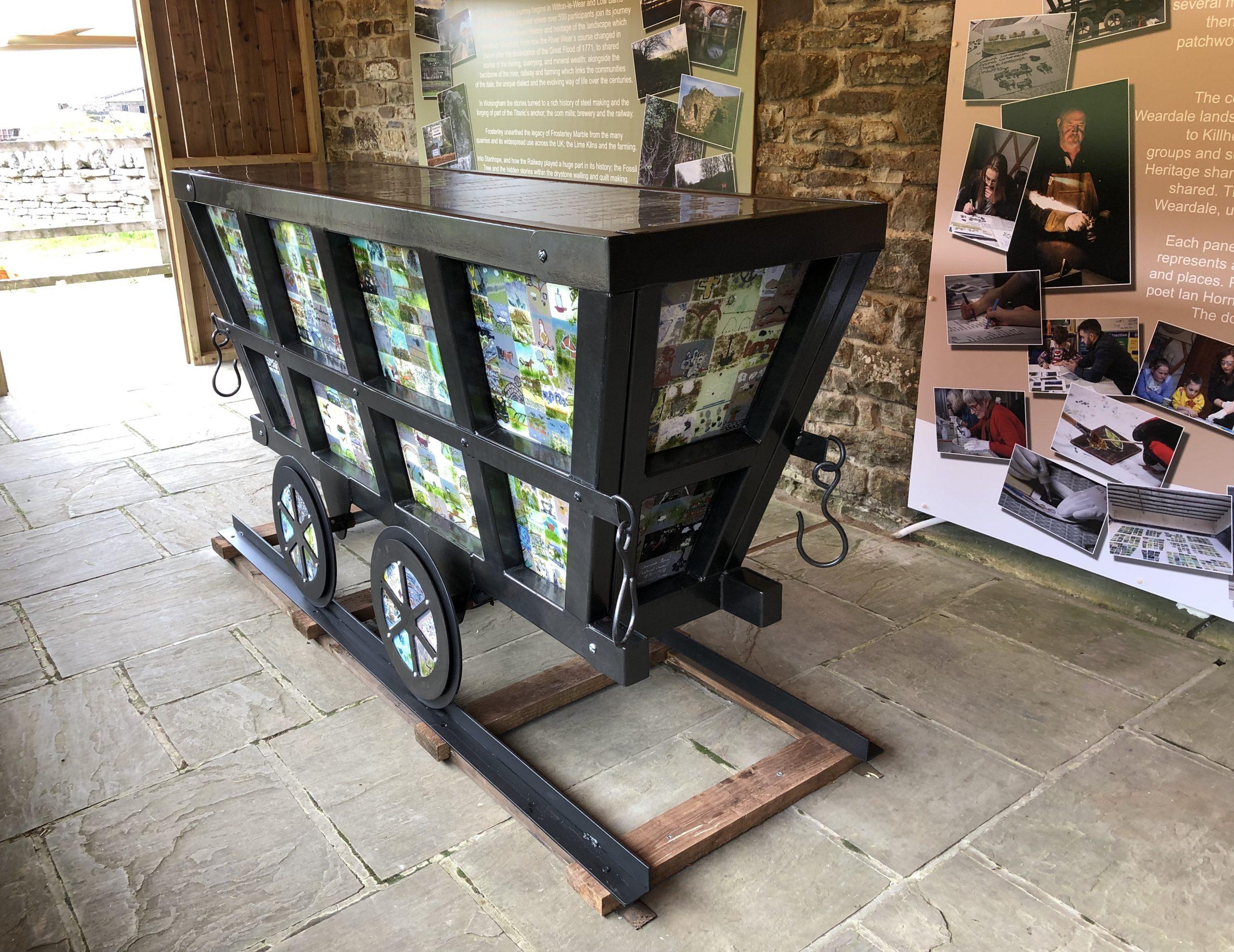 Kilhope Wheel Weardale Tub The Print Mine
