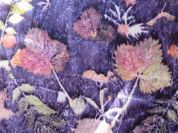 Purple and Lilac on Silk The Print Mine