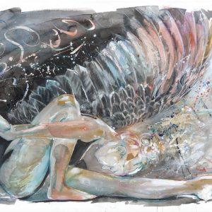 Moment of Awakening Watercolour Original